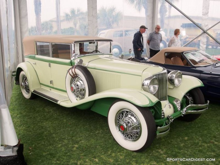 1931 Cord Front Drive L-29 Convertible Phaeton