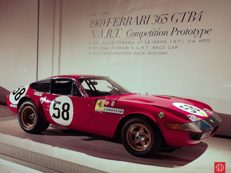 1969 Ferrari 365 GTB/4 Daytona NART Competition Coupe