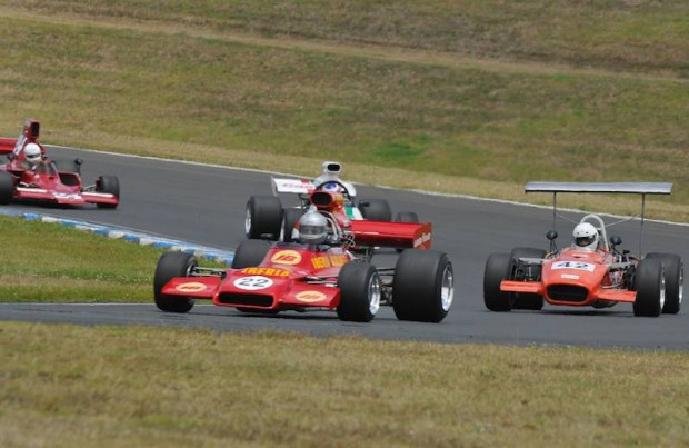 First F5000 race at the 2012 Tasman Revival meeting