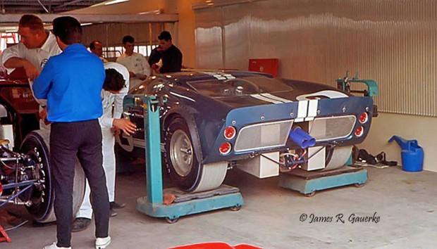Ronnie Bucknum Frank Gardner Ford GT40 Mk. II