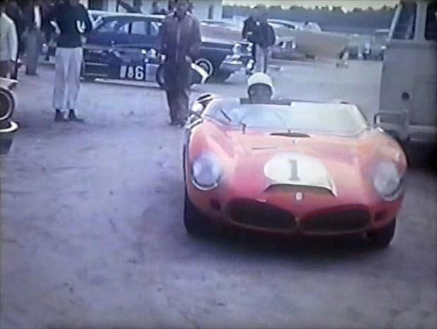NART Ferrari Dino 246 SP of Phil Hill and Ricardo Rodriguez.