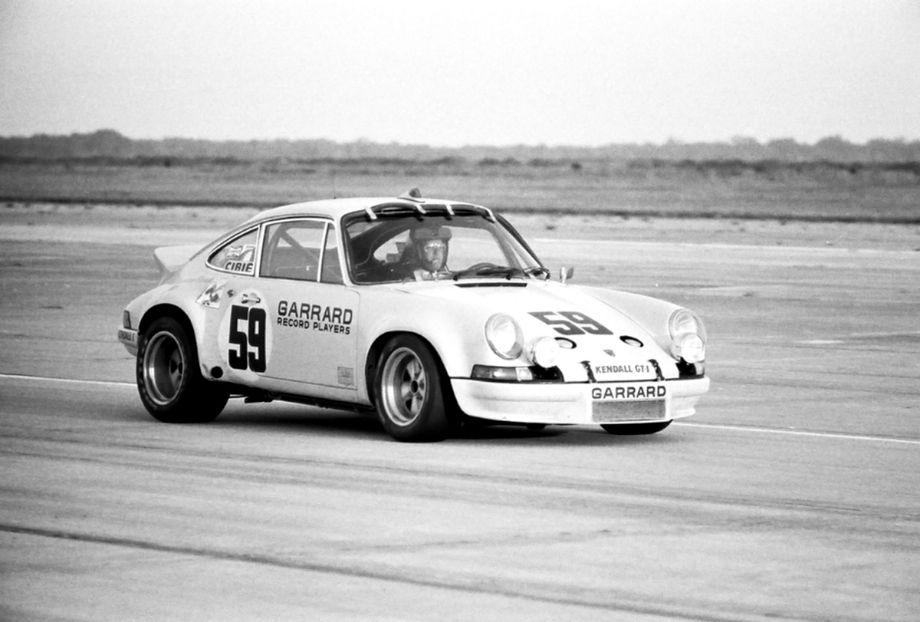 Peter Gregg in the winning Porsche 911 RSR 2.8 liter