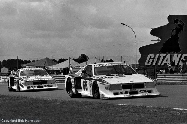 This pair of Lancia Beta Montecarlos finished 2nd and 4th in the Group 5 class in the 1982 race at Le Mans.