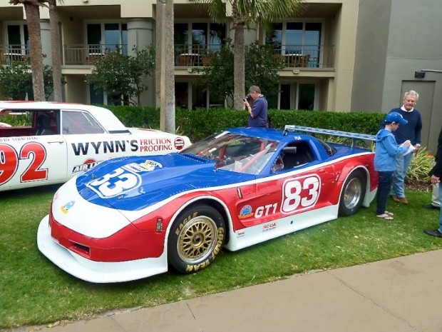 2002 Chevrolet Corvette Riley and Scott Endurance Racing Car, Paul Newman