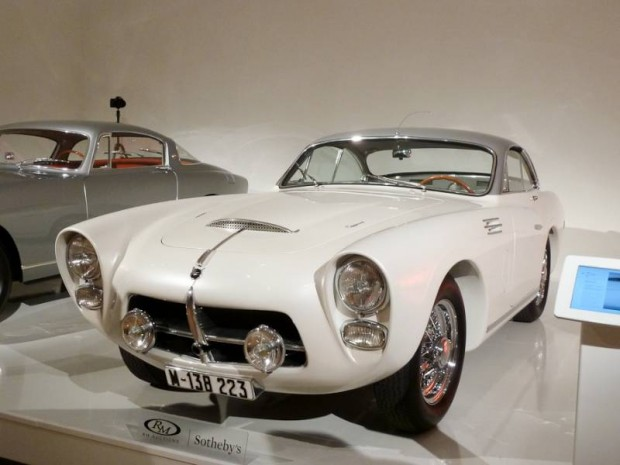1954 Pegaso Z-102 Berlinetta Series II, Body by Saoutchik
