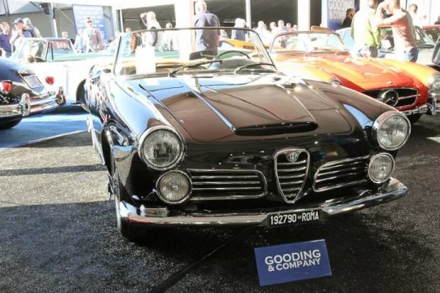 1964 Alfa Romeo 2600 Spider, Body by Touring