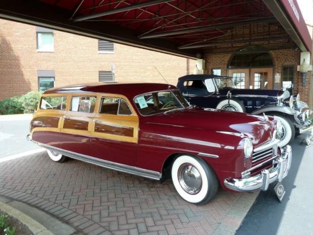 1948 Hudson Commodore Eight Custom Station Wagon
