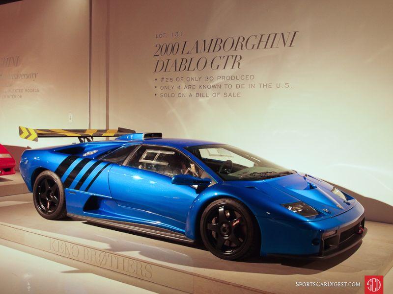 2000 Lamborghini Diablo GTR Coupe
