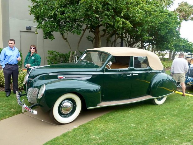 1938 Lincoln-Zephyr Convertible Sedan for sale