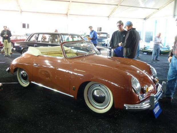 1955 Porsche 356 1500 Continental Cabriolet