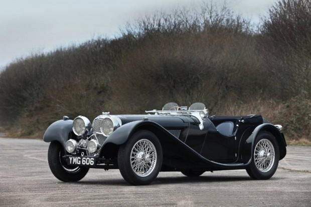 1937 SS Jaguar 100 2.5 Liter Roadster