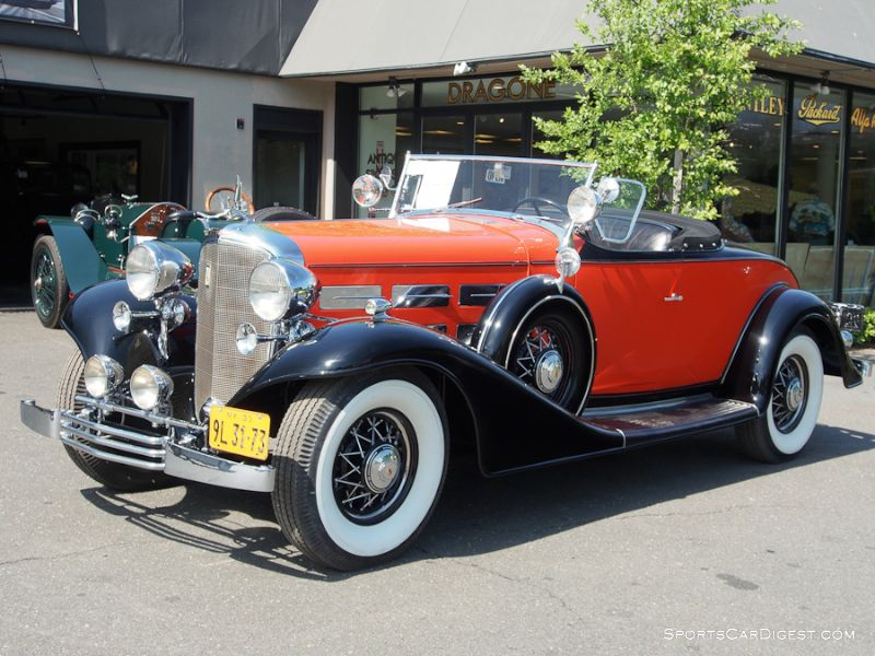 1933 Cadillac 355-C V-8 Convertible Coupe, Body by Fisher