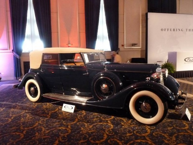 1934 Lincoln KB Convertible Sedan, Body by Dietrich