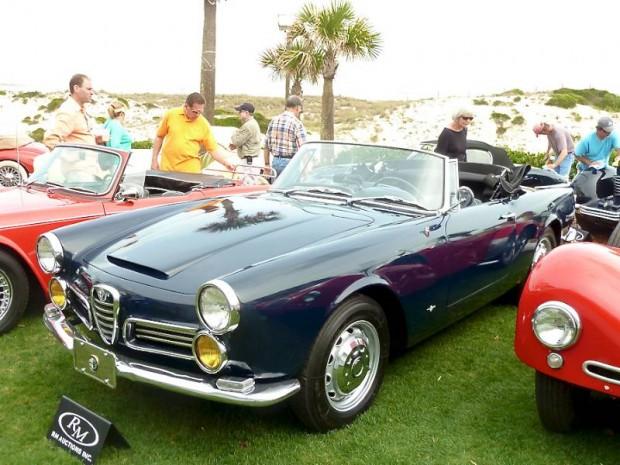 1963 Alfa Romeo 2600 Spider for sale