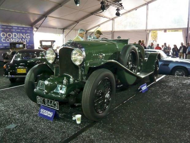 1931 Bentley 4.5 Litre Blower Sports 2-3 Seater Boattail