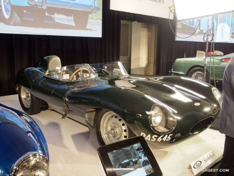 1955 Jaguar D-Type Sports Racer
