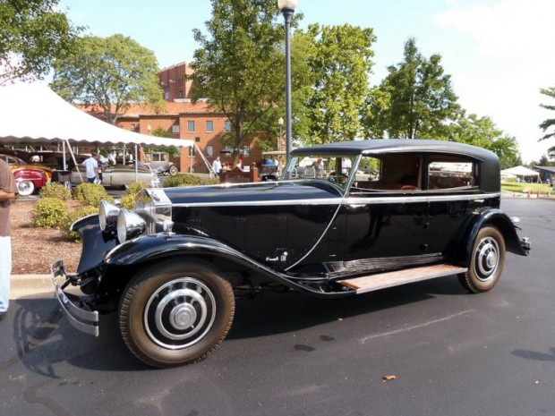 1933 Rolls-Royce Phantom II Sport Sedan