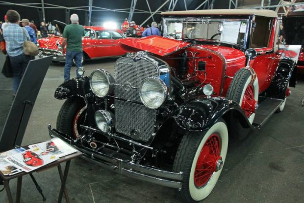 1929 LaSalle Series 328 Convertible Coupe