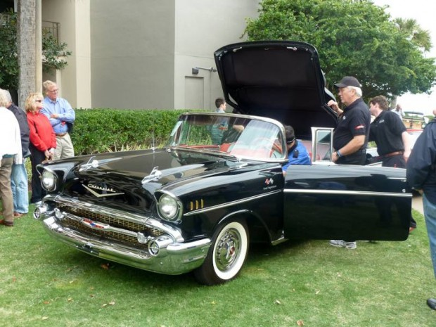 1957 Chevrolet Bel Air FI Convertible for sale