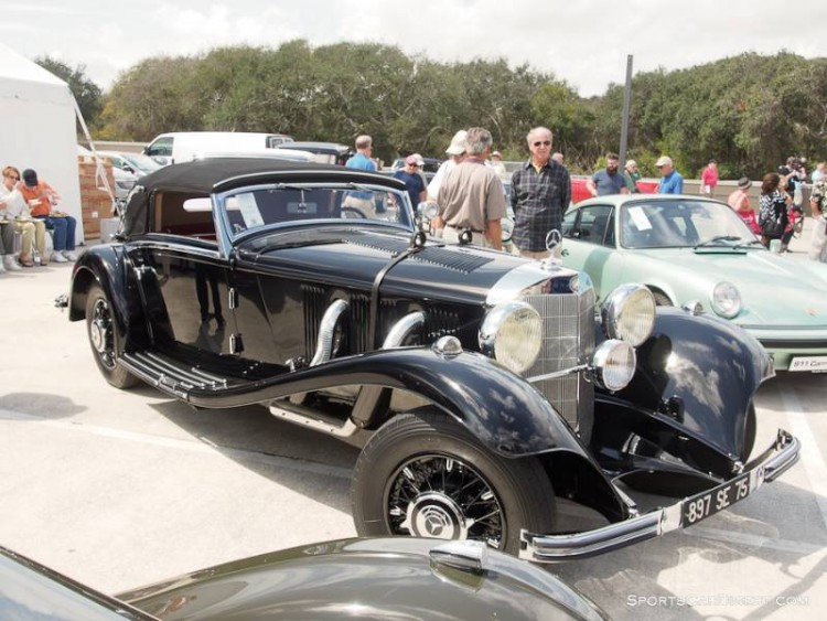 1935 Mercedes-Benz 500/540K Cabriolet A, Body by Sindelfingen