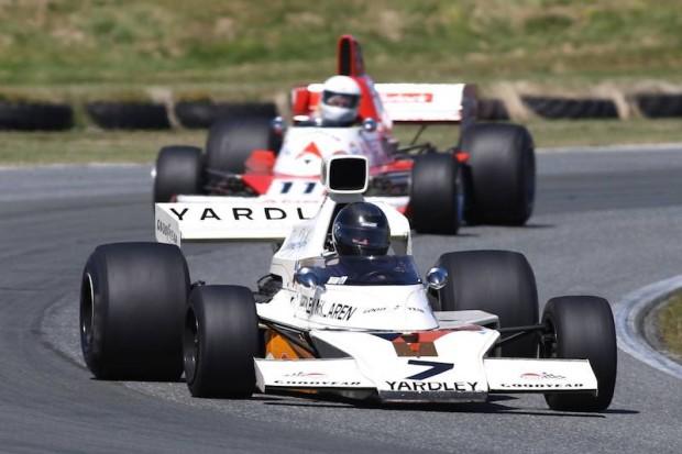 Denny Hulme McLaren M23.