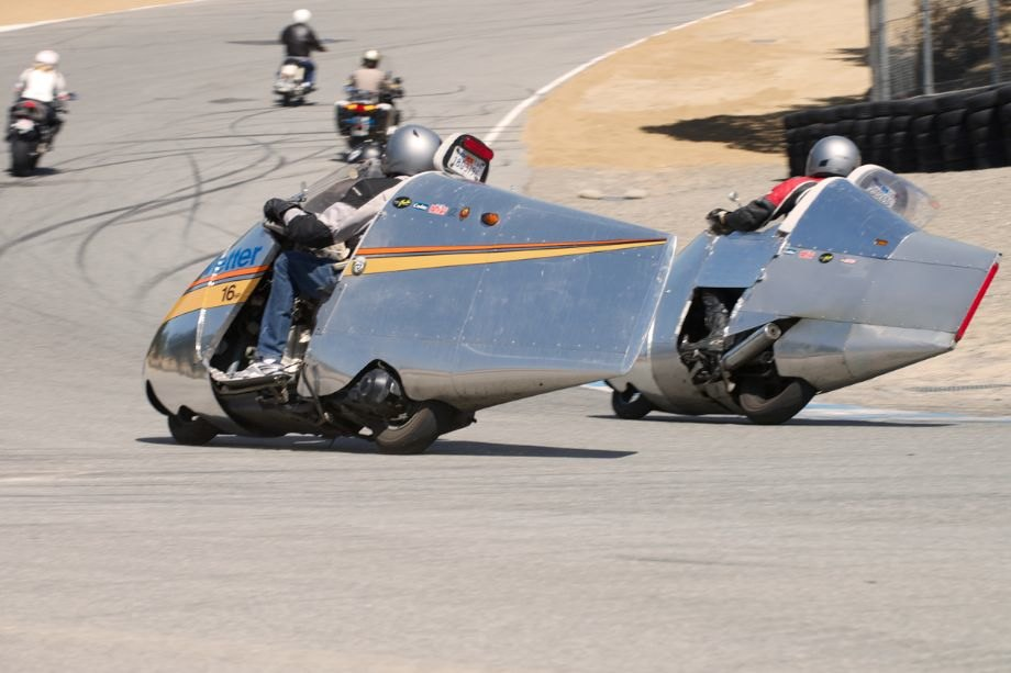 Friday morning found the tour riders and bikes on the Mazda Raceway Laguna Seca track.