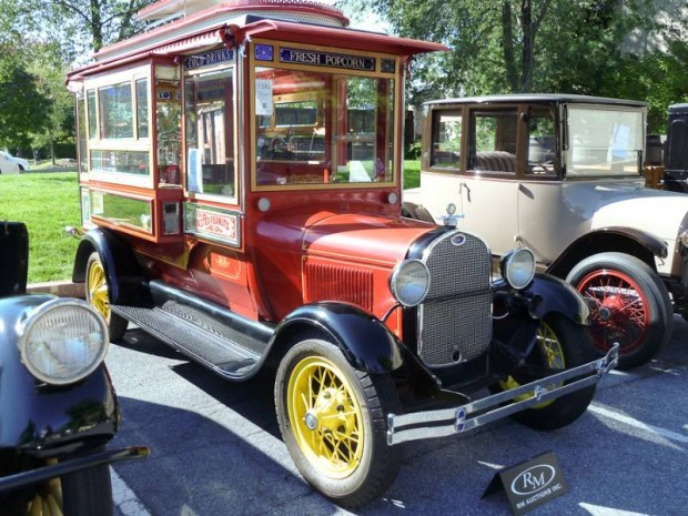 1928 Ford Model AA Cretors Popcorn Truck with Custom Trailer