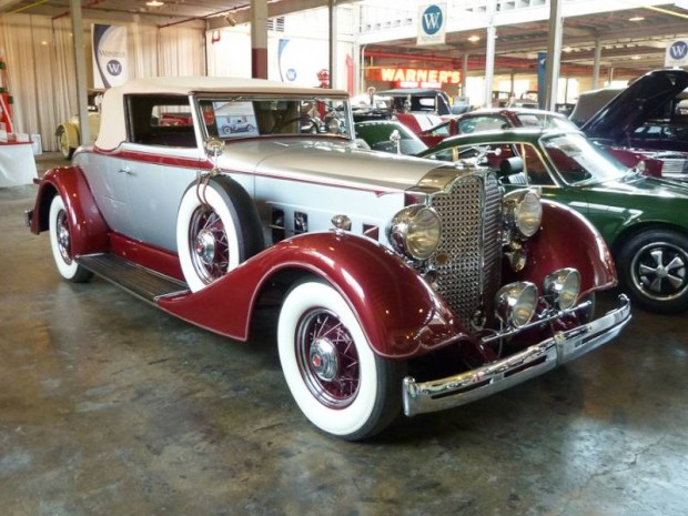 1934 Packard 1101 Convertible Coupe