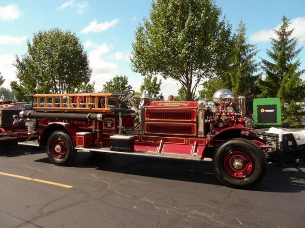 1925 Ahrens-Fox N-S-4 Triple Combination Pumper