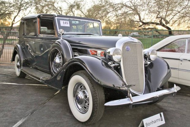 1935 Lincoln Model K 304-B Non-Collapsible Cabriolet