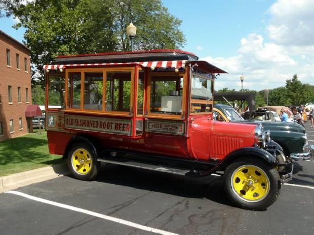 1929 Ford Model AA Popcorn Truck