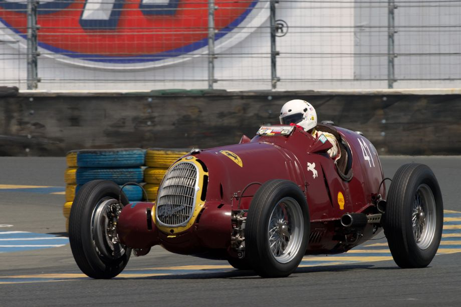 1935 Alfa Romeo Tipo B 8C-35 driven by Peter Greenfield in eleven.