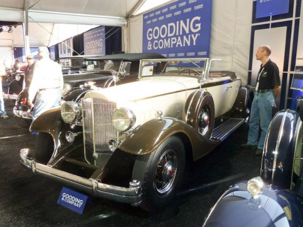 1933 Packard Twelve 1005 Coupe Roadster