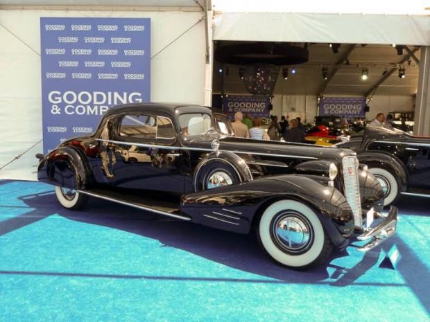 1934 Cadillac 452-D V-16 2-Passenger Stationary Coupe