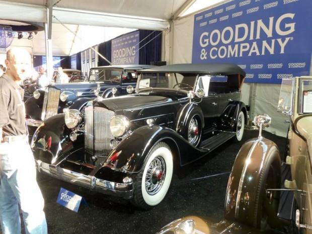 1934 Packard Twelve 1107 7-Passenger Touring