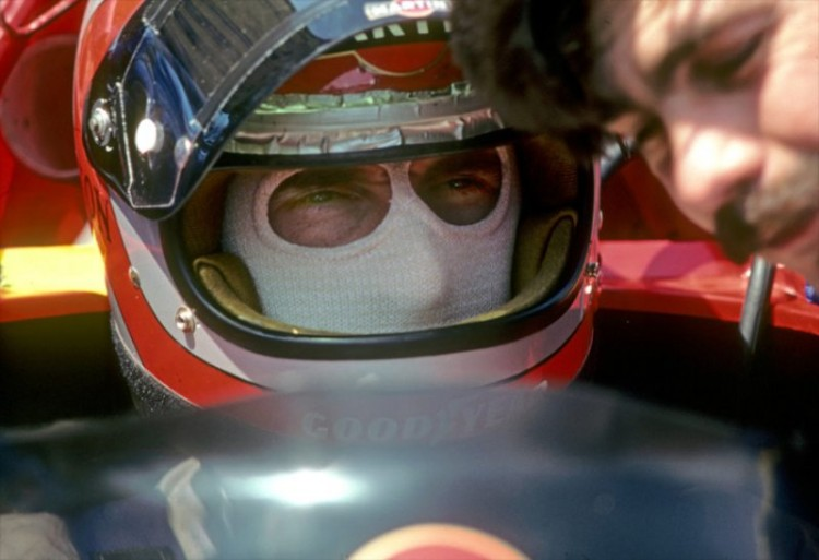 John Watson listens to Gordon Murray preceding the Formula One U.S. Grand Prix West at Long Beach in 1978. Watson's Alfa Romeo-powered Brabham BT46 retired with gearbox issues.