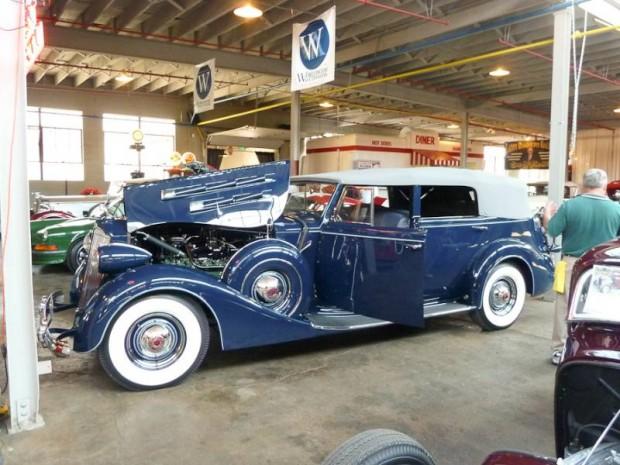 1937 Packard Twelve 1508 Convertible Sedan