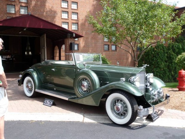 1933 Packard 1006 Twelve Convertible Coupe