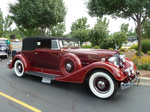 1934 Packard 1104 Super Eight Convertible Victoria