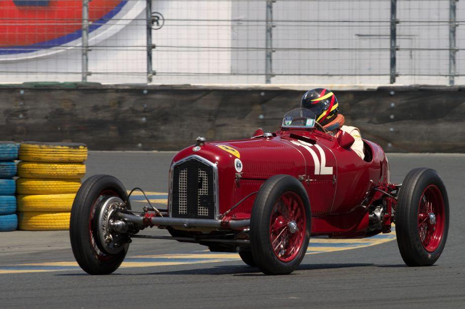 Jon Shirley's 1934 Alfa Romeo Tipo B P3 in eleven.