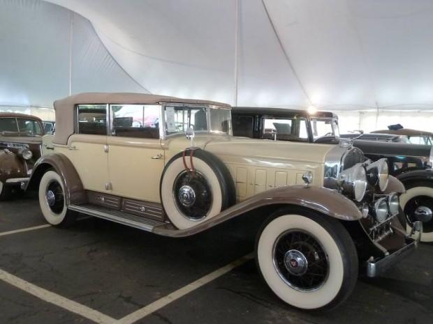 1930 Cadillac 452 V-16 All-Weather Phaeton, Body by Fleetwood