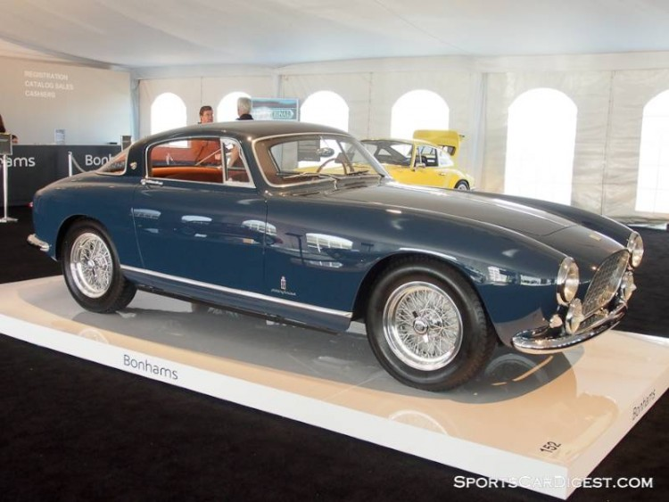 1955 Ferrari 250 GT Europa Alloy Coupe, Body by Pinin Farina