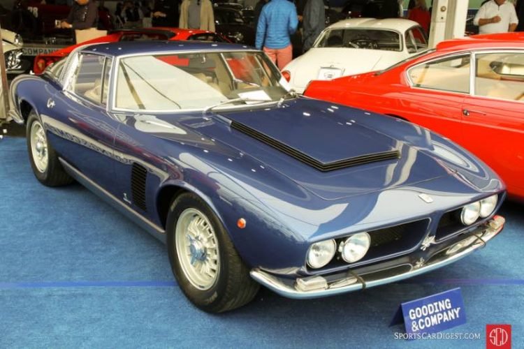 1969 Iso Grifo 7 Liter Coupe, Body by Bertone