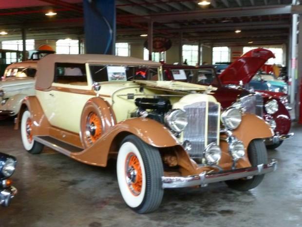 1933 Packard Super 8 1004 Victoria Convertible, Body by Dietrich