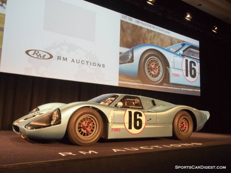 1976 Ford GT40 Mk IV Continuation Coupe, Body by Kar Kraft