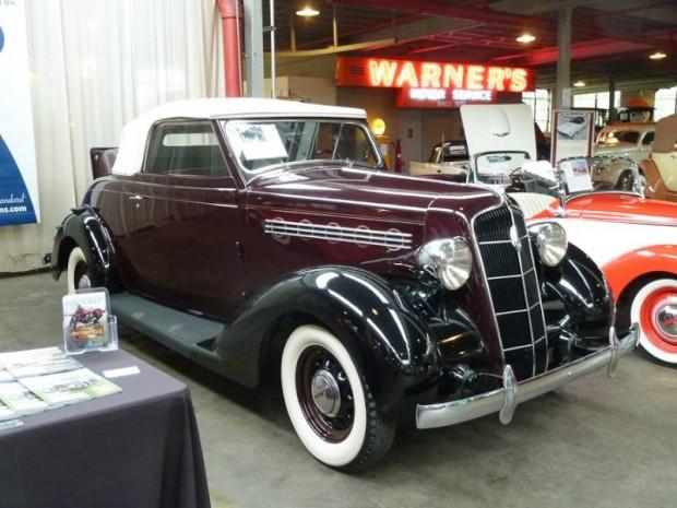 1935 Plymouth PJ Convertible