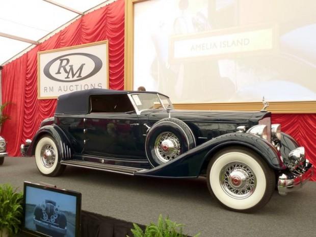 1934 Packard Twelve 1108 Convertible Victoria