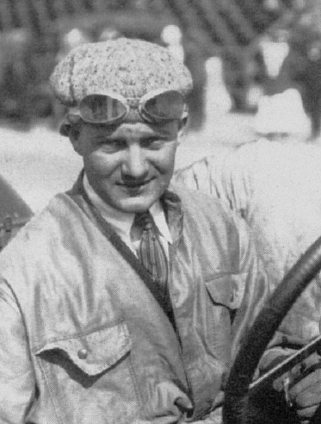 "Even though Johnny Aitken took over before the half-way point, Howard ""Howdy"" Wilcox in a Peugeot was given credit for winning the November 18, 1916 American Grand Prize at Santa Monica."