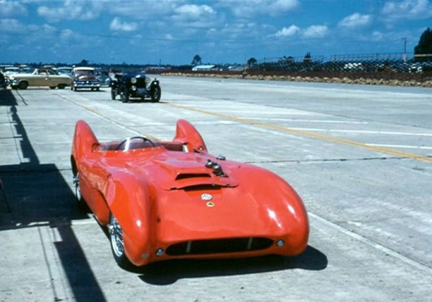 Lotus MG at 1957 12 Hours of Sebring