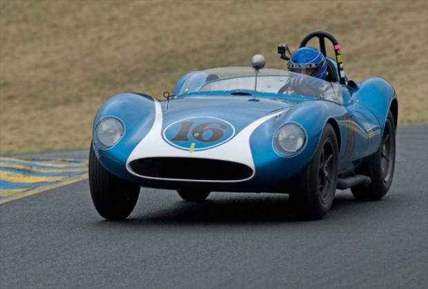 Group 4 Winner Rob Walton driving his 1958 Scarab MK I